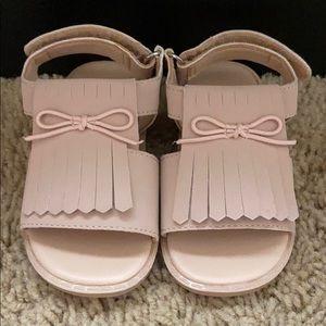 Toddler tassel sandals